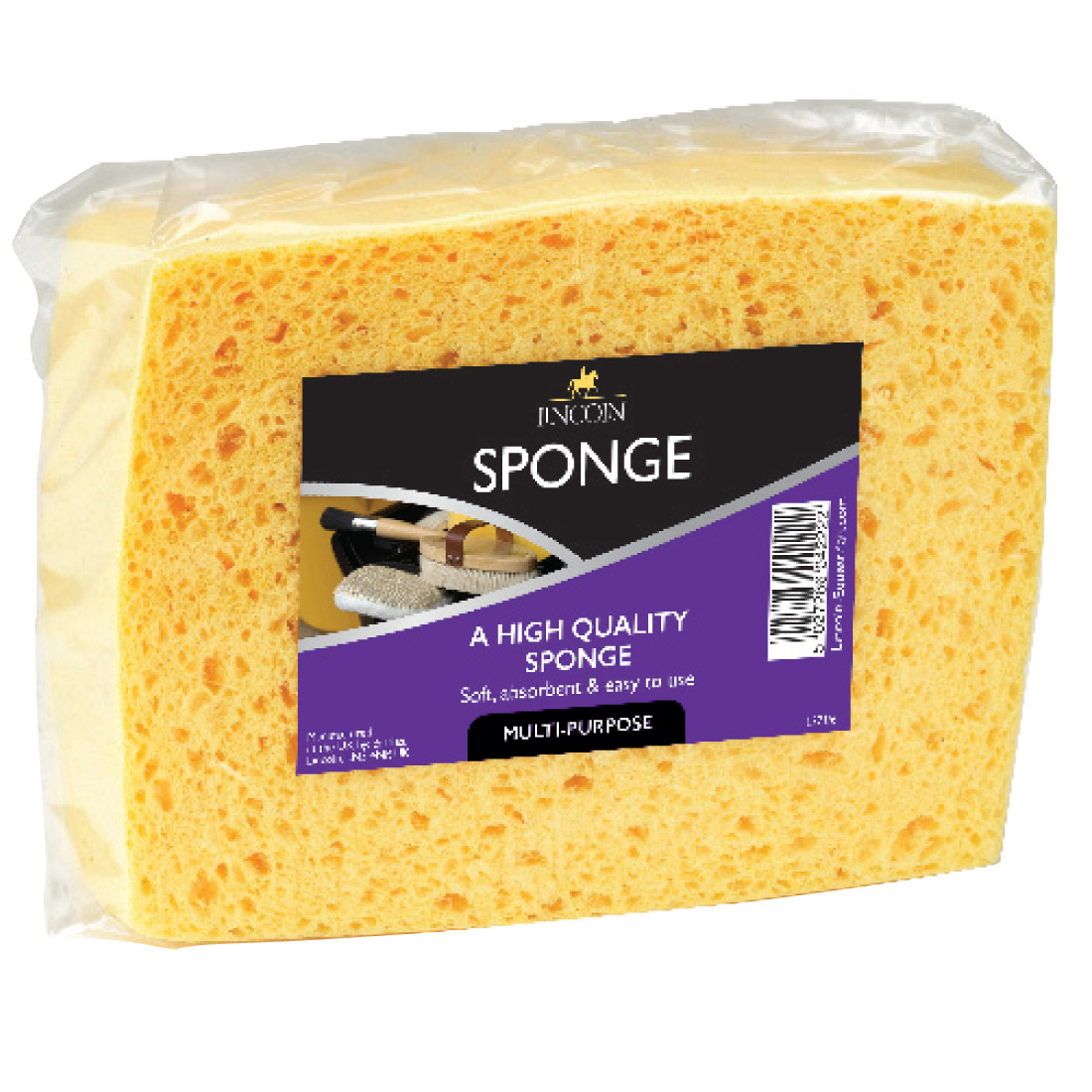 Yellow One Size Lincoln Sponge
